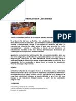 Sesión Conceptos Básicos de Economía Ramas y Principios