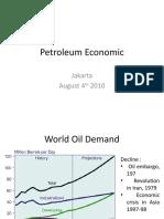 Petroleum Economic