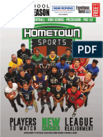2018 Hometown Sports magazine