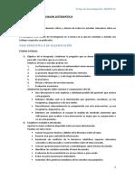 Guía Revisión Sistemática