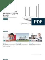 TP Link Archer C5 (EU) 4.0 Datasheet