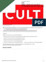 Escola Unitária - Revista Cult