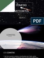 Cometas y Meteoritos