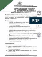 Primera Convocatoria Alimentación beneficiarios SIES de la UNC