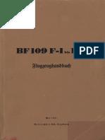 Bf-109 F-1 Bis F-4 Flugzeughandbuch