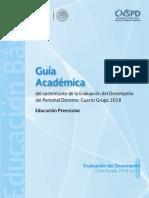 Educacion Preescolar 4to Grupo 2018-2