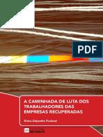 A CAMINHADA DE LUTA DOS TRABALHADORES DAS EMPRESAS RECUPERADAS - Maria Alejandra Paulucci
