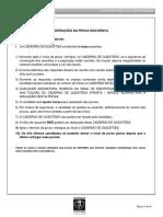 Prova Discursiva - Residência Multiprofissional UERJ - 2018