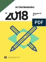 Semiextensivo Enem eBook Semana 10 2018