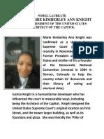 marie kimberley knight supreme court justice opinions bio summary