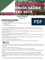 Prova Residencia Multiprofissional Uerj - 2018