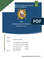 Informe Final 6 Sistemas de Control I ANALISIS DE ESTABILIDAD