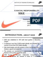 why did nike fail to address corporate social responsibility earlier Of corporate social responsibility (csr) and to discuss some of the models that early examples of responsibility had the character of philanthropy (waddock, 2008, p what does nike do today (what change did it provoke in the company ) another group pressuring companies to address csr is non-governmental.