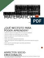 El Pensamiento Lógico Matemático