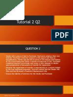 Tutorial 2 Q2 Conveyancing