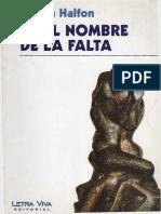 Halfon Nelida - En El Nombre De La Falta.pdf