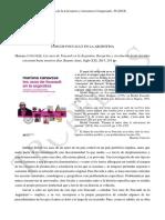 Usos de Foucault en La Argentina