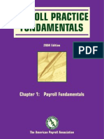 Payroll Practice Fundamentals Chapter 1