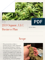 253 Organic LLC Business Plan: