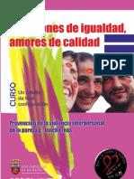 Curso «Relaciones de Igualdad. Amores de calidad». Univ. Burgos-Acción en Red