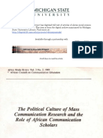 The political culture of mass comnunication Research and the Role of African Communication Scholars.pdf