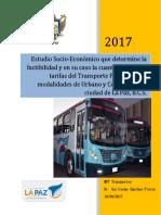 Presentación Estudio Tarifas La Paz Final 1