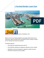 East Container Terminal blunder.docx