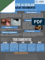 OSTEITIS ALVEOLAR - ALVEOLITIS