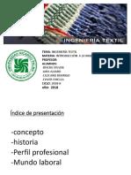 Presentación Ing. Textil Edit.bysamu