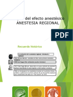 Anestesia Regional 2do