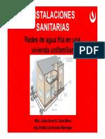 Semana 02_instalaciones_redes Agua Fría Vivienda