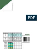 Planilha para geração de código de barras EAN-13