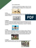 actividades fisicas