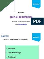 GE 2014 I Sesión 2 Planeamiento Estrategico (1)