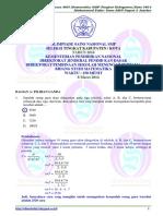 2014 Osn Matematika Smp Kota (Solusi)