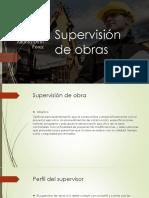 Supervisión de Obras y perfil del supervisor