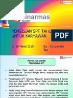Tata Cara Pengisian SPT Karyawan - 17-18Mar10