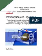 Como Interactúa La Ingeniería en La Que Estudias (IDIIT)