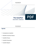 AutoPart Training