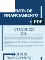 Fuentes de Financiamiento - PPT