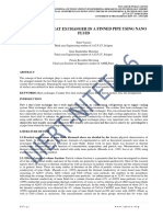 """A REVIEW ON """"HEAT EXCHANGER IN A FINNED PIPE USING NANO FLUID"""