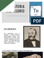 Historia Del Telurio