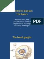 Tues 8-00 Parkinson's Disease- The Basics