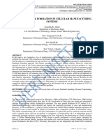 INTEGRATIVE CELL FORMATION IN CELLULAR MANUFACTURING SYSTEMS