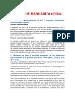 Texto de Margarita Urías