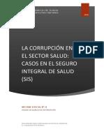 Corrupcion en El Sector de Salud