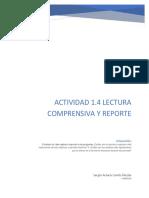 Actividad 1.4 Lectura Comprensiva y Reporte