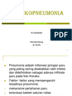 PPT Fix bronko pneumonia