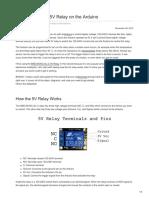 circuitbasics.com-How to Set Up a 5V Relay on the Arduino.pdf