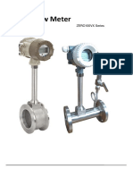 Vortex Flow Meter Catalog Dalian Zero Instrument Technology Co., Ltd China